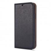 Rico Vitello Magnetic Book Case iPhone 12 Pro Max Zwart
