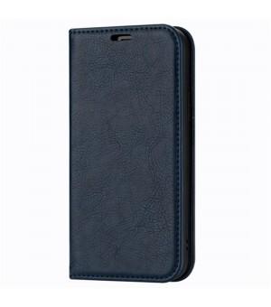 Rico Vitello Magnetic Book Case iPhone 12 Pro Donker Blauw