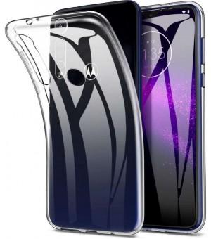PM Silicone Case Motorola Moto G8 Plus Clear