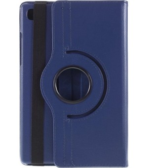 PM - 360 Rotating Stand & Case Galaxy Tab S5e (T720/T725) Donker Blauw