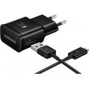 Samsung Snelle Lader Travel Adapter met MicroUSB kabel Zwart