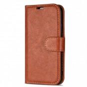 Rico Vitello Book Case iPhone 12 / 12 Pro Bruin