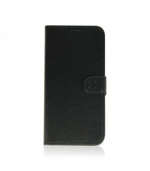 Rico Vitello Echt Leren Hoesje iPhone 12 Pro Max Zwart