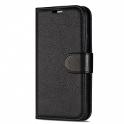 Rico Vitello Book Case iPhone 12 Pro Max Zwart