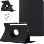 PM - 360 Rotating Stand & Case Galaxy Tab S7 (T870/T875) Zwart