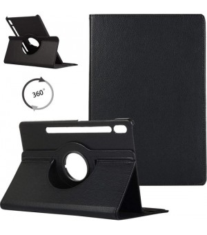 PM - 360 Rotating Stand & Case Galaxy Tab S7 (T870/T875) Zwart