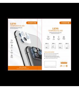 PM Camera lens beschermer iPhone 12 Pro Max Zwart