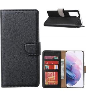PM Book Case Samsung Galaxy S21 5G Zwart
