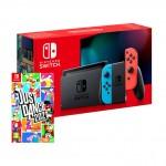 Nintendo Switch Just Dance 2021 Bundel Blauw, Rood