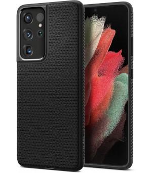 Spigen Liquid Air Samsung Galaxy S21 Ultra 5G Zwart
