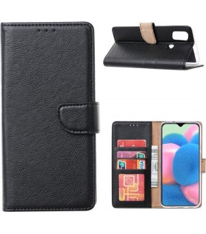 PM Bookcase Samsung Galaxy M11 Zwart