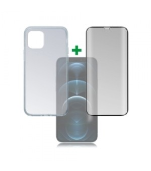 4Smarts Beschermingsset iPhone 12 / 12 Pro Clear