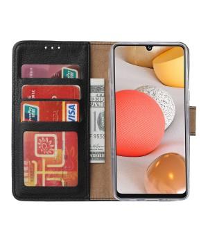 PM Book Case Samsung Galaxy A42 5G Zwart