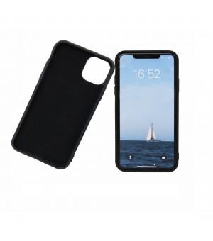 PM Siliconen Hoes iPhone 12 Mini Zwart