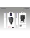 Rico Vitello Dual USB met Lighting Kabel + Adapter Zwart