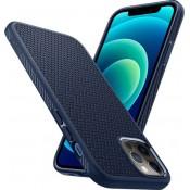 Spigen Liquid Air iPhone 12 Pro Max Donkerblauw