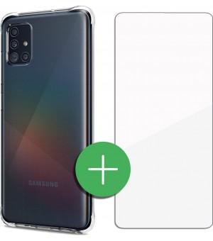 PM Beschermingsset Samsung Galaxy A51 Clear