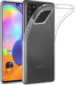 PM Silicone Case Samsung Galaxy A31 Clear