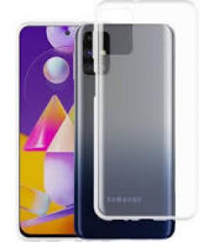 PM Silicone Case Samsung Galaxy M31s Clear