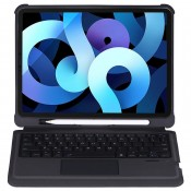 4smarts Keyboard Case QWERTY voor Apple iPad Air 2020 Zwart