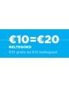 Lebara Beltegoed €10 = €20