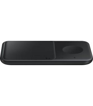Samsung Wireless Charger Duo Pad 9W Zwart met Adapter