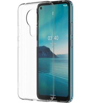PM Siliconen Hoes Nokia 3.4 Clear