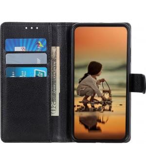 PM Book Case Nokia 3.4 Zwart