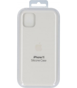 Apple iPhone 11 Siliconen Case Wit MWVX2ZM/A