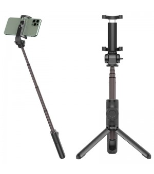 Baseus Bluetooth Selfie Stick Lovely with Tripod and Remote Control Zwart