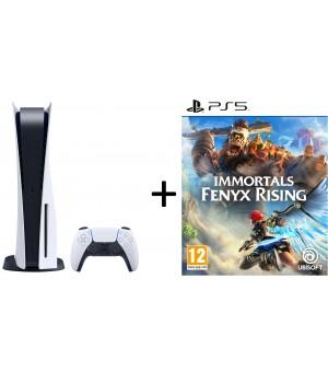 Sony PlayStation 5 Disc Edition + Immortals Fenyx Bundel