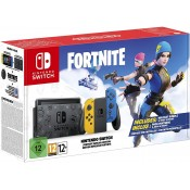 Nintendo Switch Limited Fortnite Blauw Geel