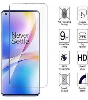 9H - Screenprotector Tempered Glass OnePlus 8