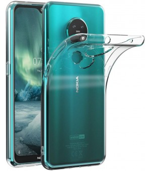 PM Siliconen Hoes Nokia 7.2 Clear
