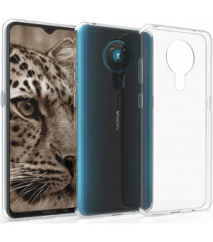 PM Siliconen Hoes Nokia 5.3 clear