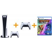 Sony PlayStation 5 Disc Edition + Sony PlayStation 5 DualSense draadloze controller + Ratchet & Clank: Rift Apart
