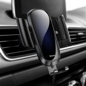 Baseus Verstelbare Auto Telefoonhouder Zwart