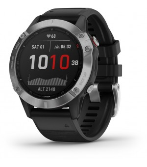 Garmin Fenix 6 Smartwatch 47mm Zilver/Zwart
