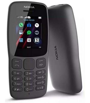 Nokia 106 Dual Sim Zwart
