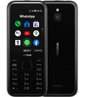 Nokia 8000 4G Dual Sim Zwart