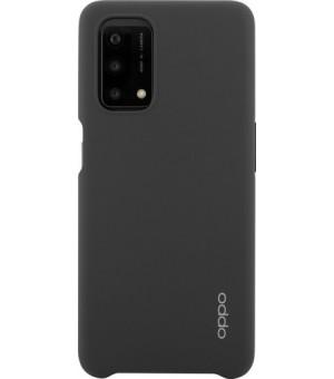 Oppo A54/A74 5G Silicone Hoesje Zwart