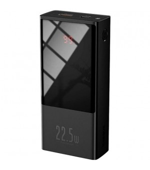 Baseus Super Mini Powerbank 22.5W 10.000mAh Zwart