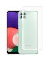 PM Silicone Case Samsung Galaxy A22 5G Clear