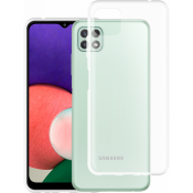 PM Silicone Case Samsung Galaxy A22 4G Clear