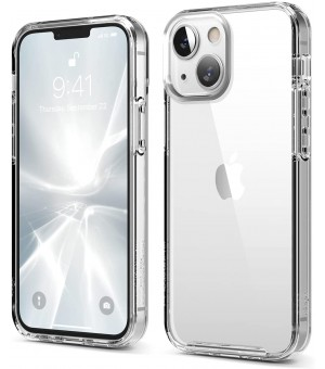 PM Siliconen Hoes iPhone 13 Mini Clear