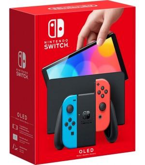 Nintendo Switch 64GB OLED Model Rood/Blauw