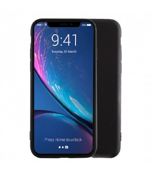 PM Siliconen Hoes iPhone 13 Pro Max Zwart