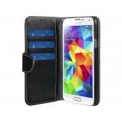 Melkco Wallet Leather Case Samsung Galaxy S6 Zwart