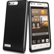muvit Huawei Ascend G6 Minigel Case - Black