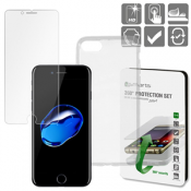 4smarts 360 ° Beschermingsset iPhone 8 / iPhone 7 Clear
